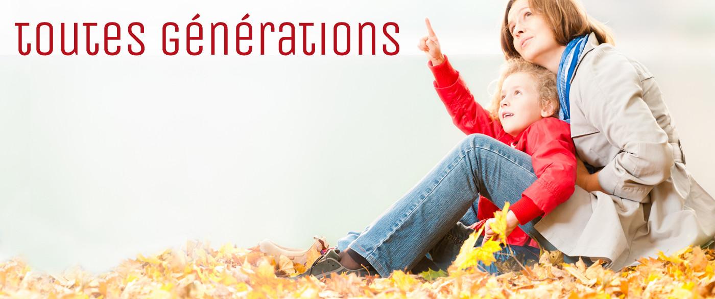 Toutes générations