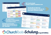 Churchtools Schulungstag