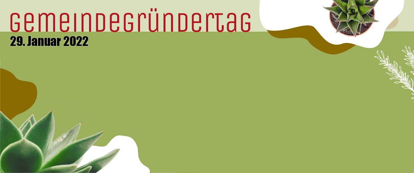 Gemeindegründertag-Slider